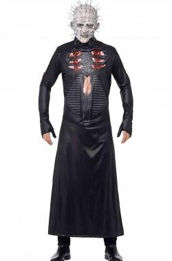 Vestito Halloween uomo Pinhead di Hellraiser