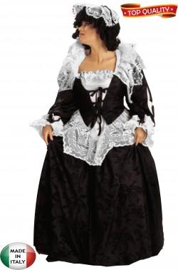 Abito gran dama nero con...