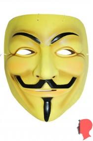 Maschera Anonymous V per Vendetta non originale imitazione