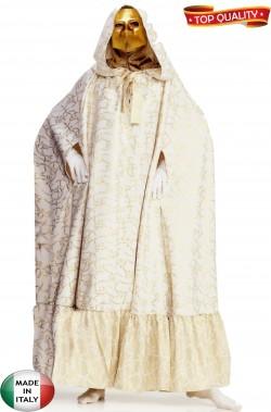 Mantello bianco e oro stile veneziano bellissimo