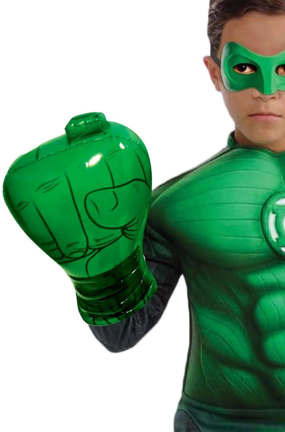 Guanto pugno di Lanterna Verde con anello gonfiabile