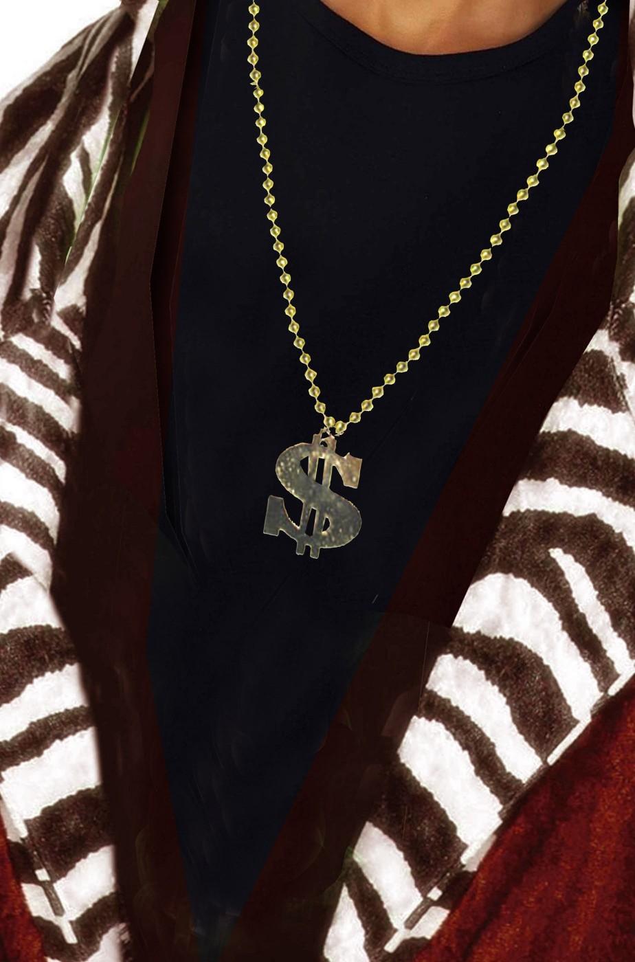 Collana da pappone col dollaro