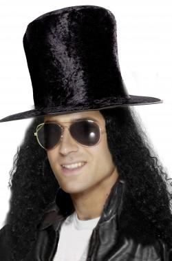 Cappello slash a cilindro nero