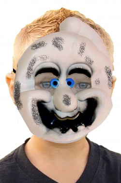 Maschera Halloween bambino economica da fantasma