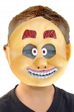 Maschera Halloween bambino economica il pazzo