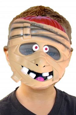 Maschera halloween economica bambino da mummia