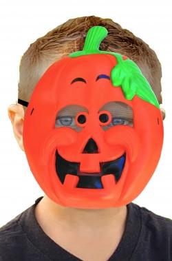 Maschera halloween bambino economica zucca