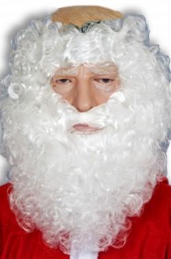 Maschera Babbo Natale per non farsi riconoscere