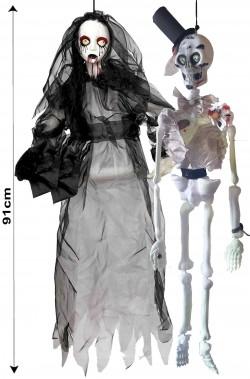 Allestimento Halloween da appendere Sposi Morti