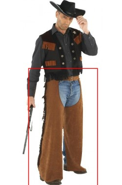 Pantaloni cowboy gambiere western gringo