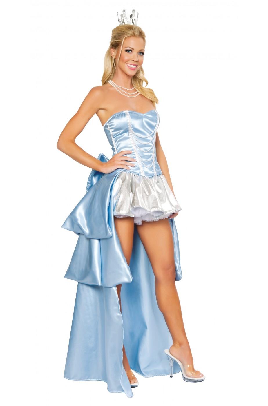 8692900d3df2 vestito di carnevale da principessa azzurra o fata turchina splendido