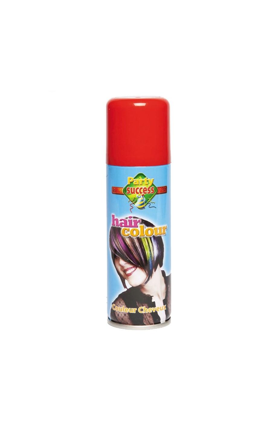 Spray Lacca Per Capelli Colore Rosso
