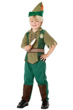 Costume carnevale bambino Peter Pan Bambino originale Disney