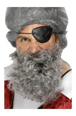 Trucco: Barba Grigia Pirata...