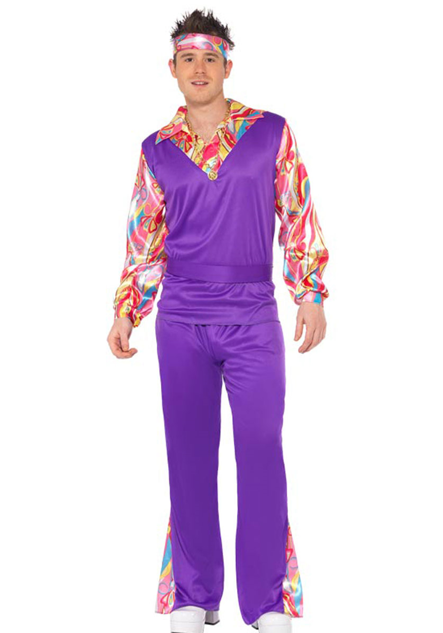 765715ee90a2 Costume uomo Hippy Anni 70 psichedelico - CarnivalHalloween.com