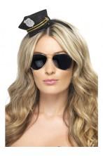 Mini cappello poliziotto