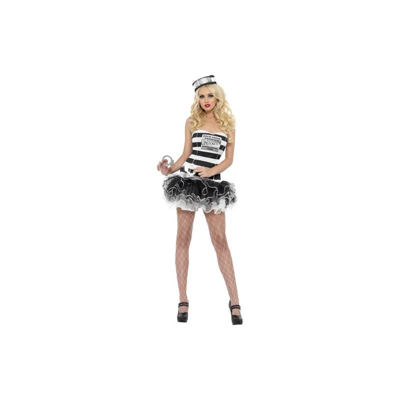 Costume donna sexy detenuta