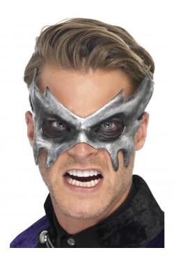 Maschera phantom in cartapesta pitturata a mano