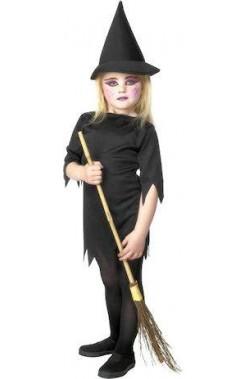 Costume carnevale Bambina Strega Nera