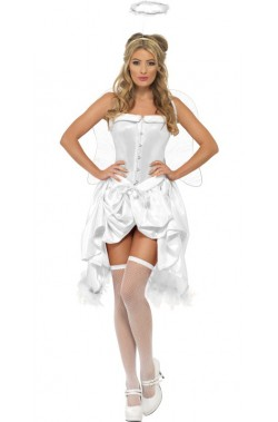 Costume donna angelo Burlesque o 700