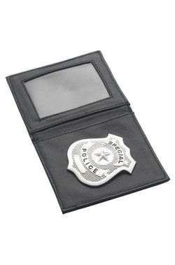 Badge poliziotto FBI in tesserino