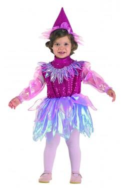 Costume carnevale bambina strega ballerina fata principessa