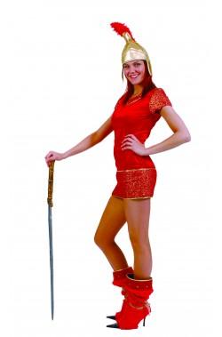 Costume donna antica guerriera romana gladiatrice
