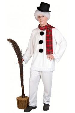 Costume Abito Pupazzo Di Neve