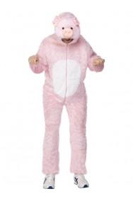 Vestito di carnevale da maiale adulto