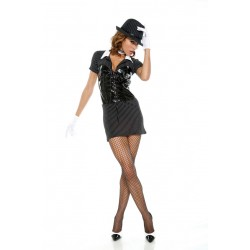 Costume donna gangster