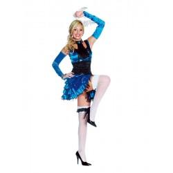 Costume donna Burlesque/Saloon Girl.