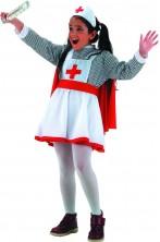 Costume carnevale Bambina Infermiera