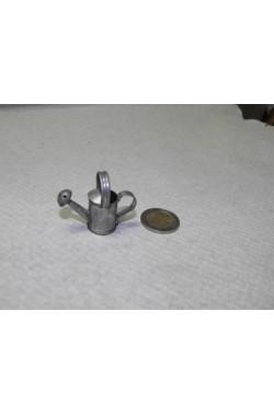 Accessori presepe contadino:Innaffiatoio o annaffiatoio in metallo grande