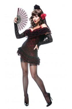 Costume donna da ballerina spagnola