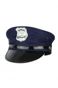 Cappello Poliziotto Blu con stemma taglia circa 56-58