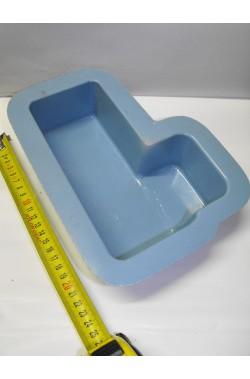 Ambientazione presepe: vaschetta per realizzare laghetto 21cm circa