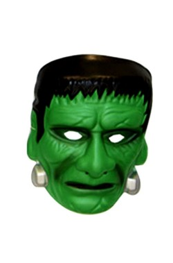 Maschera bambino Frankenstein in PVC