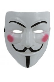 Maschera Anonymous adulto vendetta