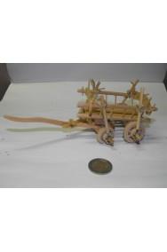 Ambientazione presepe: Carro in legno con fieno
