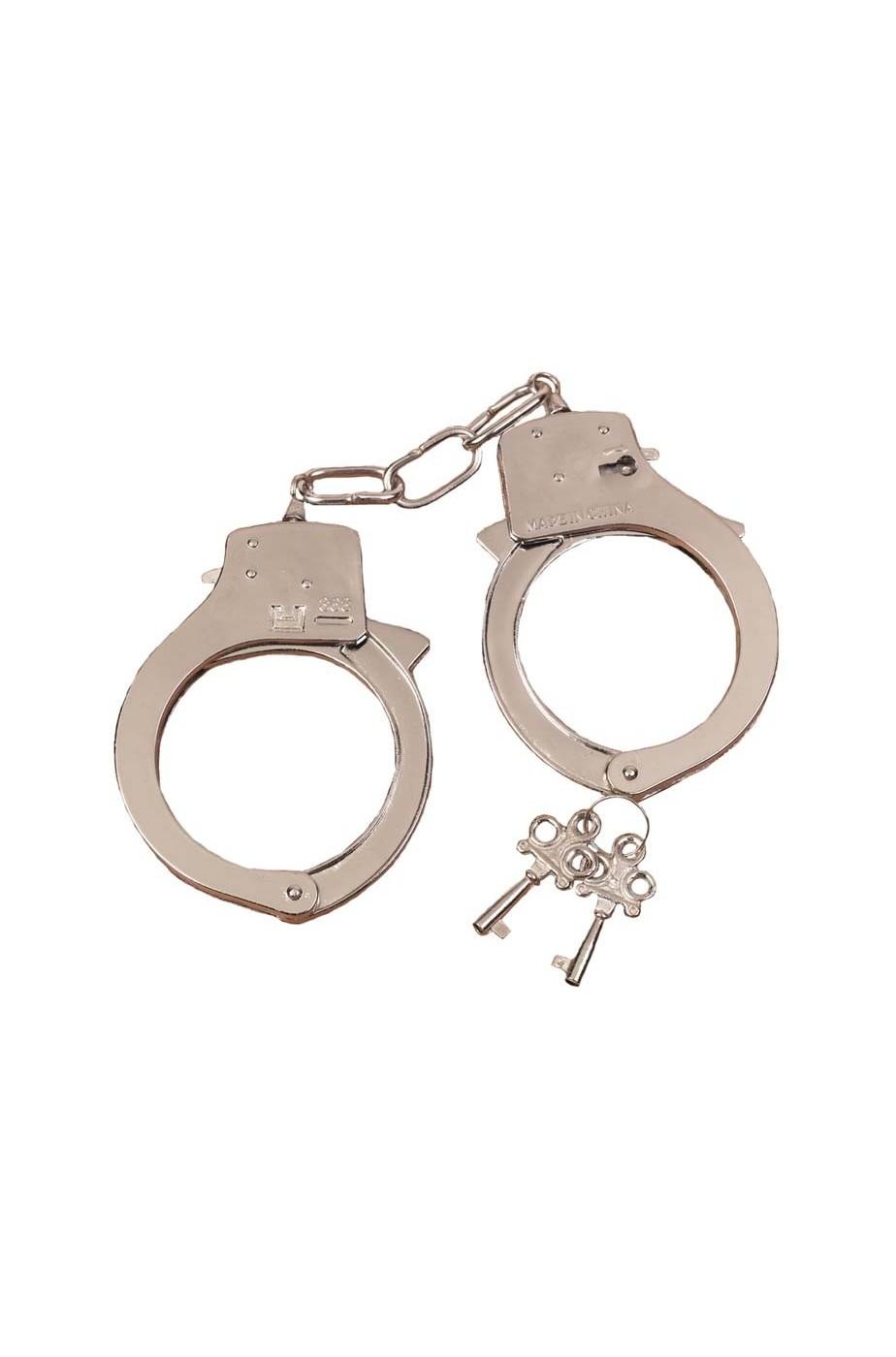 Manette detenuto  in metallo