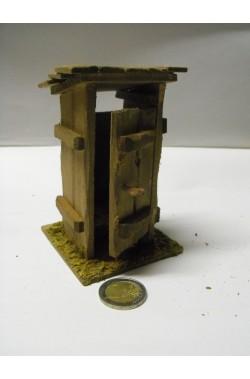 Ambientazione presepe: Toilette / gabinetto / latrina cm 13 circa