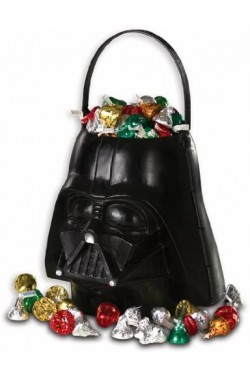 Secchiello Porta dolcetti in plastica Star Wars Darth Vader halloween