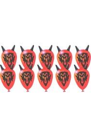 Palloncini a forma di testa di diavolo