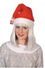 Cappello Babbo Natale con pupazzetto di neve o babbo natale