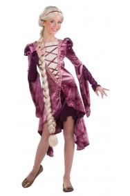 Costume Rapunzel lusso donna
