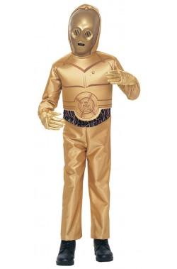 Costume droide protocollare C3PO D3BO Bambino Star Wars