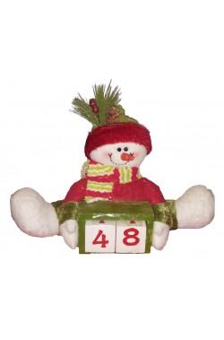 Decorazione Babbo Natale Luminoso 48cm