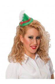 Cappellino tirolese con piuma