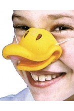 Naso finto animale becco di papero