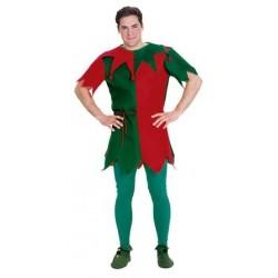Costume Abito Elfo di Babbo Natale